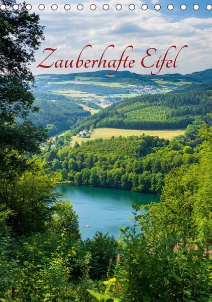 Zauberhafte Eifel (Tischkalender 2017 DIN A5 hoch) - Coverbild
