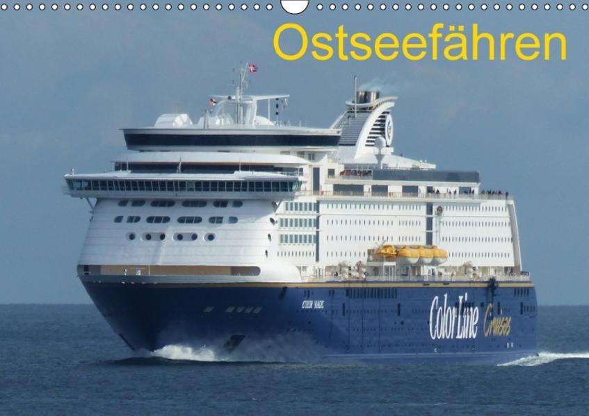 Ostseefähren (Wandkalender 2017 DIN A3 quer) - Coverbild
