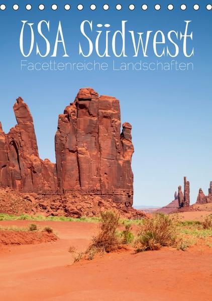 USA Südwest  Facettenreiche Landschaften (Tischkalender 2017 DIN A5 hoch) - Coverbild