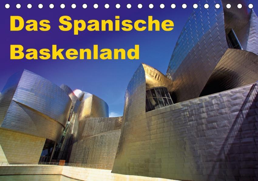 Das Spanische Baskenland (Tischkalender 2017 DIN A5 quer) - Coverbild