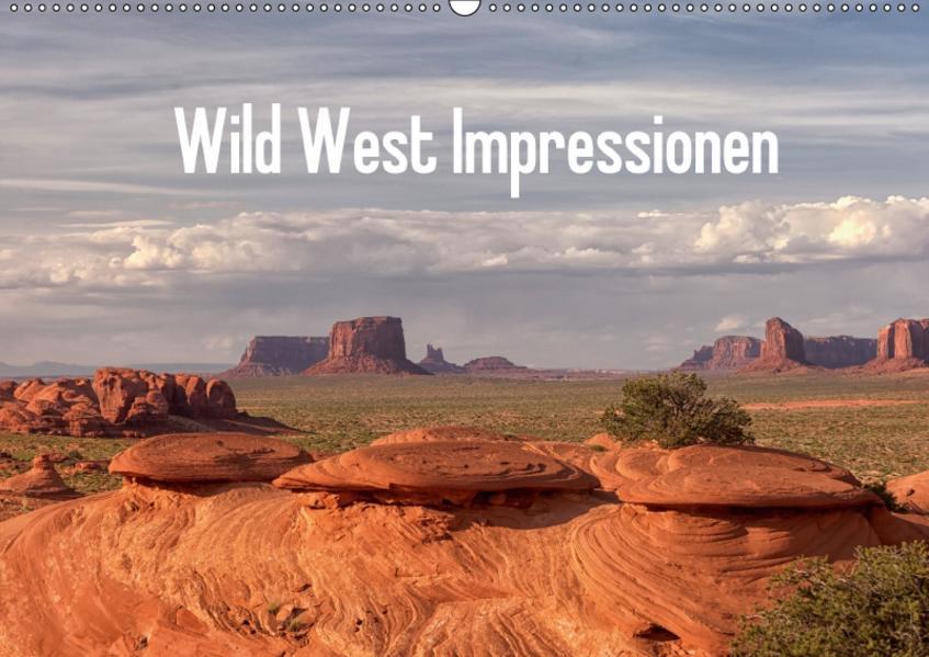 Wild West Impressionen (Wandkalender 2017 DIN A2 quer) - Coverbild