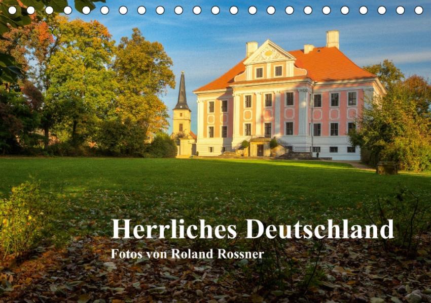 Herrliches Deutschland (Tischkalender 2017 DIN A5 quer) - Coverbild