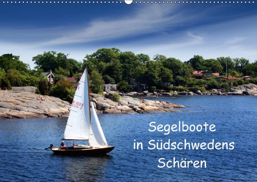 Segelboote in Südschwedens Schären (Wandkalender 2017 DIN A2 quer) - Coverbild
