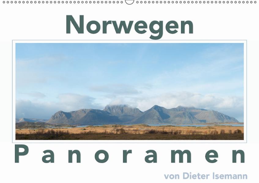 Norwegen - Panoramen (Wandkalender 2017 DIN A2 quer) - Coverbild