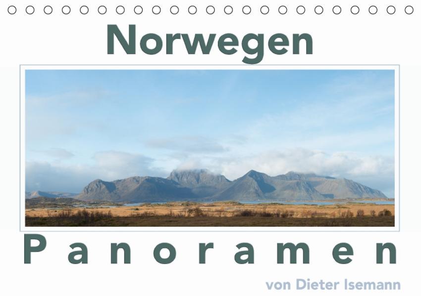 Norwegen - Panoramen (Tischkalender 2017 DIN A5 quer) - Coverbild