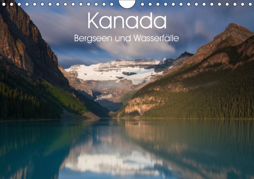Kanada - Bergseen und Wasserfälle (Wandkalender 2017 DIN A4 quer) - Coverbild