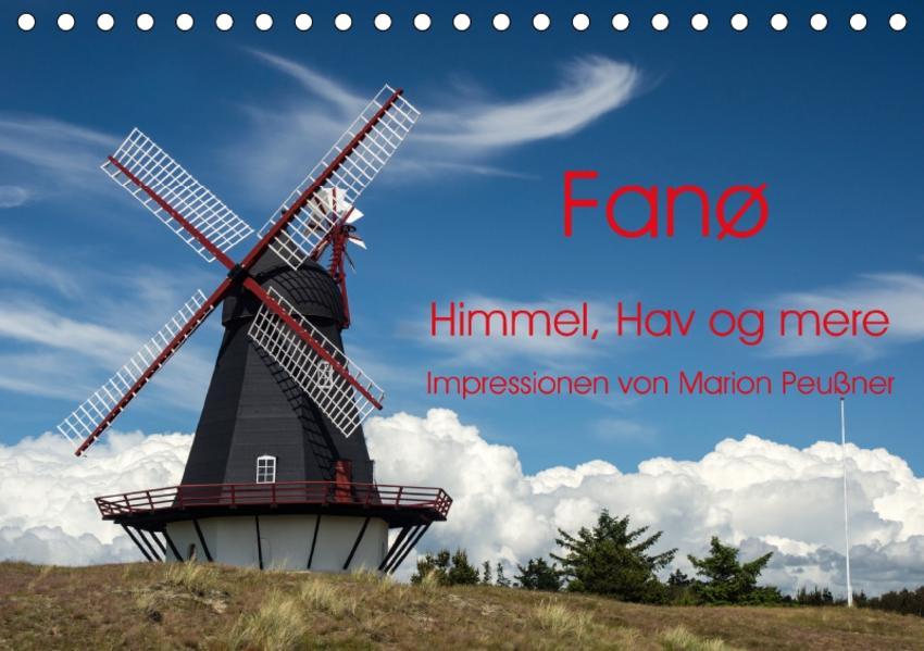 Fanø - Himmel, Hav og mere (Tischkalender 2017 DIN A5 quer) - Coverbild