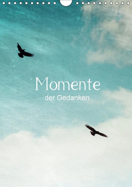Momente der Gedanken (Wandkalender 2017 DIN A4 hoch) - Coverbild