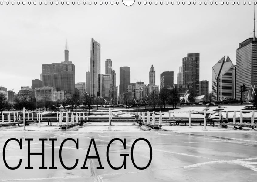Icy Chicago (Wandkalender 2017 DIN A3 quer) - Coverbild