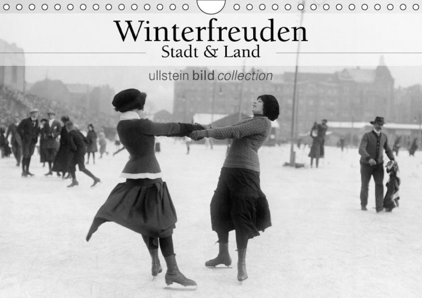 Winterfreuden - Stadt und Land (Wandkalender 2017 DIN A4 quer) - Coverbild