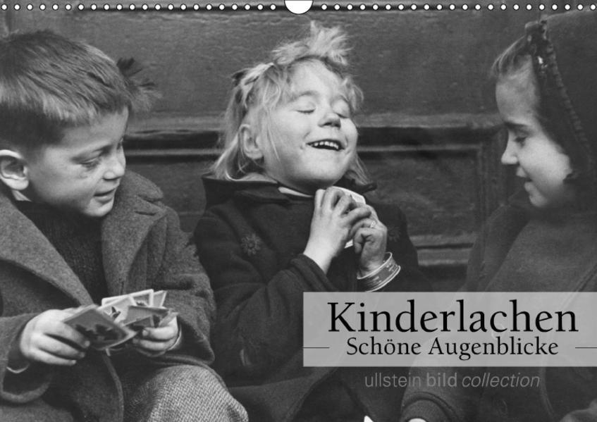 Kinderlachen - Schöne Augenblicke (Wandkalender 2017 DIN A3 quer) - Coverbild
