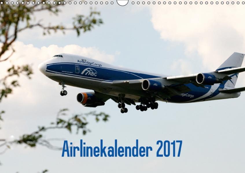 Airlinekalender 2017 (Wandkalender 2017 DIN A3 quer) - Coverbild