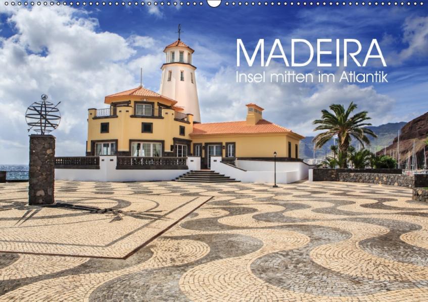 Madeira - Insel mitten im Atlantik (Wandkalender 2017 DIN A2 quer) - Coverbild