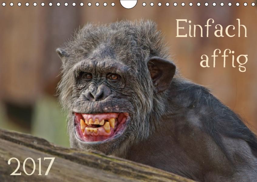 Einfach affig (Wandkalender 2017 DIN A4 quer) - Coverbild