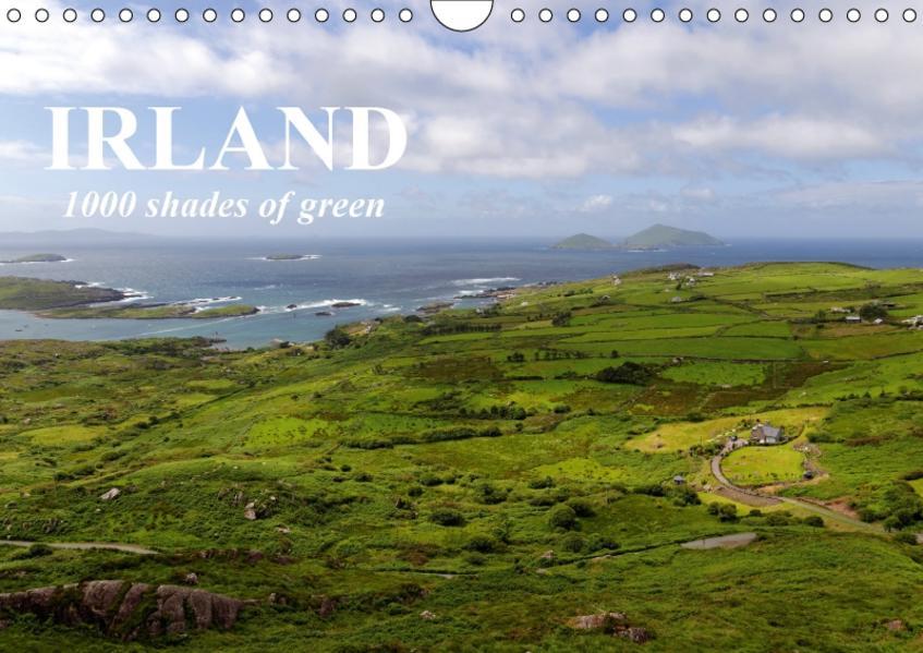 IRLAND. 1000 shades of green (Wandkalender 2017 DIN A4 quer) - Coverbild