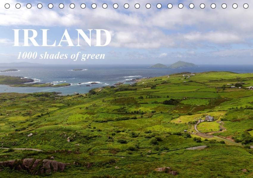 IRLAND. 1000 shades of green (Tischkalender 2017 DIN A5 quer) - Coverbild