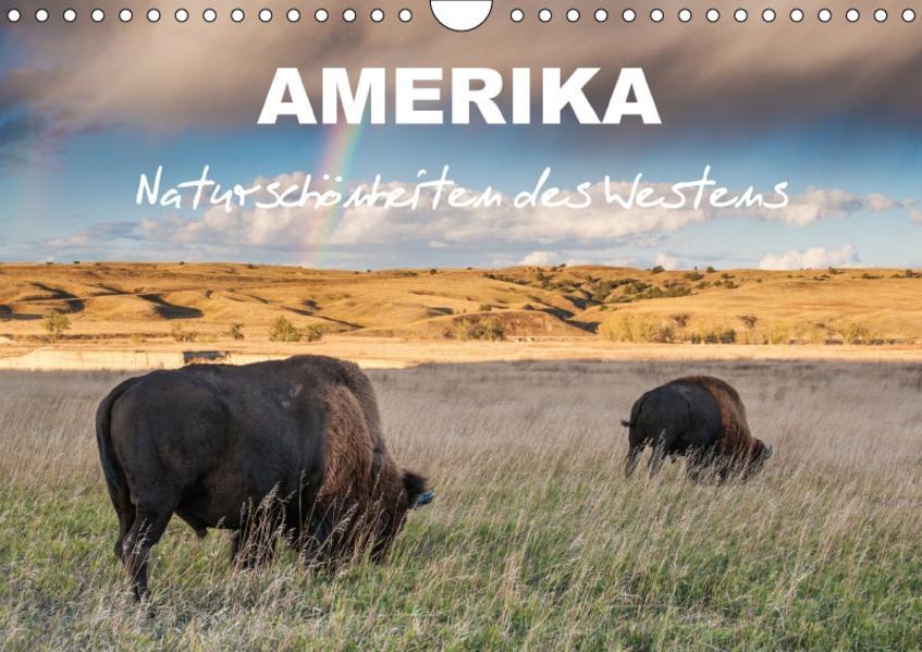 Amerika - Naturschönheiten des Westens (Wandkalender 2017 DIN A4 quer) - Coverbild