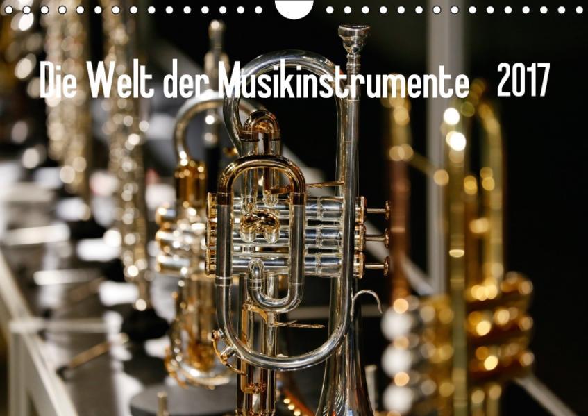 Die Welt der Musikinstrumente (Wandkalender 2017 DIN A4 quer) - Coverbild