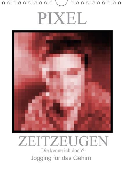 Pixel Zeitzeugen (Wandkalender 2017 DIN A4 hoch) - Coverbild