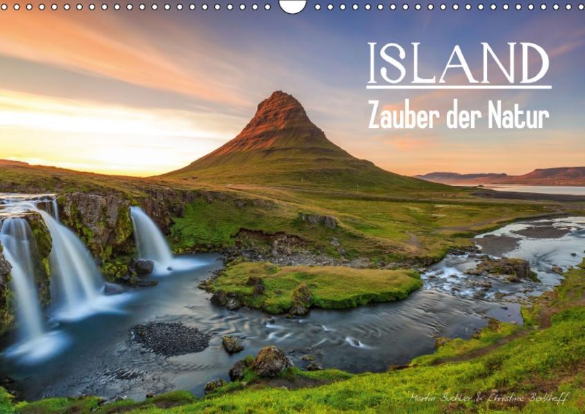 ISLAND - Zauber der Natur (Wandkalender 2017 DIN A3 quer) - Coverbild