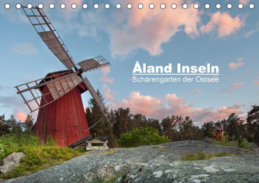 Åland Inseln: Schärengarten der Ostsee (Tischkalender 2017 DIN A5 quer) - Coverbild