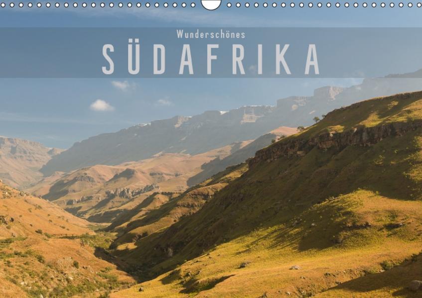 Wunderschönes Südafrika (Wandkalender 2017 DIN A3 quer) - Coverbild