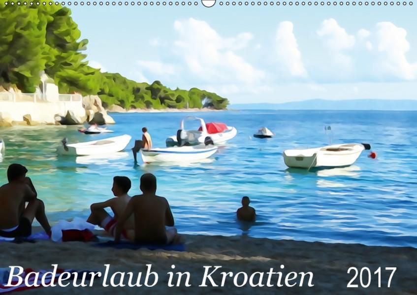 Badeurlaub in Kroatien (Wandkalender 2017 DIN A2 quer) - Coverbild