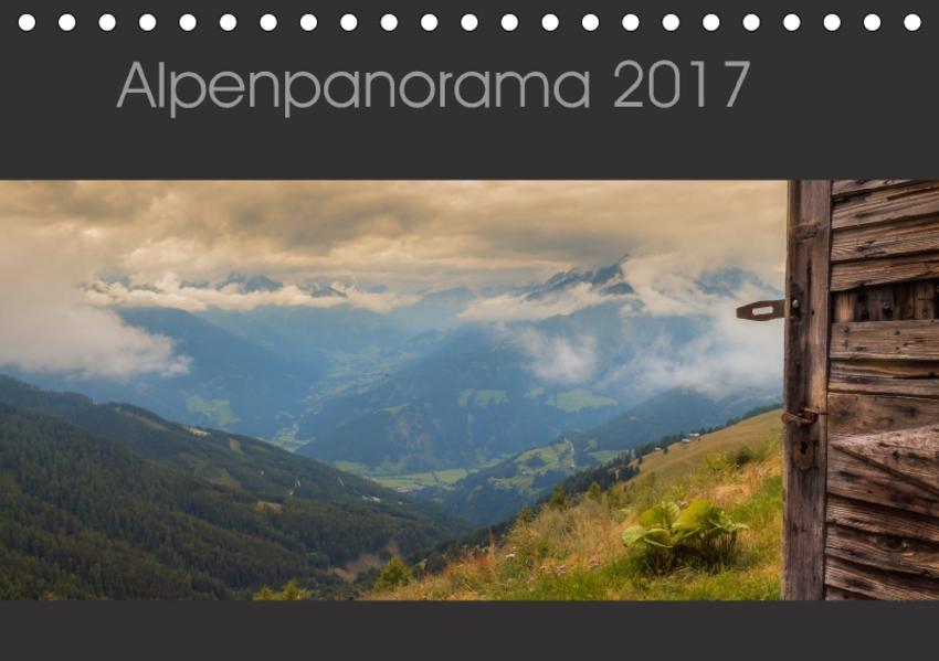 Alpenpanorama 2017 (Tischkalender 2017 DIN A5 quer) - Coverbild