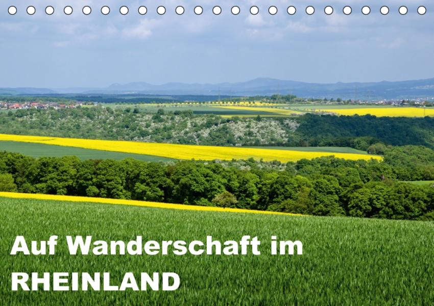 Auf Wanderschaft im Rheinland (Tischkalender 2017 DIN A5 quer) - Coverbild