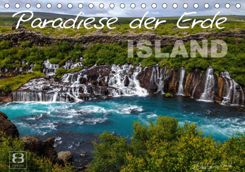 Paradiese der Erde - ISLAND (Tischkalender 2017 DIN A5 quer) - Coverbild