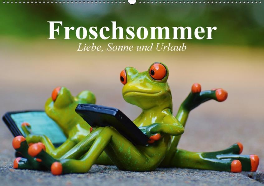 Froschsommer. Liebe, Sonne und Urlaub (Wandkalender 2017 DIN A2 quer) - Coverbild