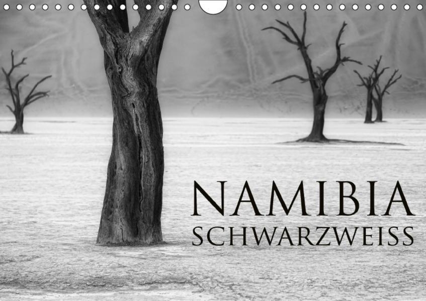 Namibia schwarzweiß (Wandkalender 2017 DIN A4 quer) - Coverbild