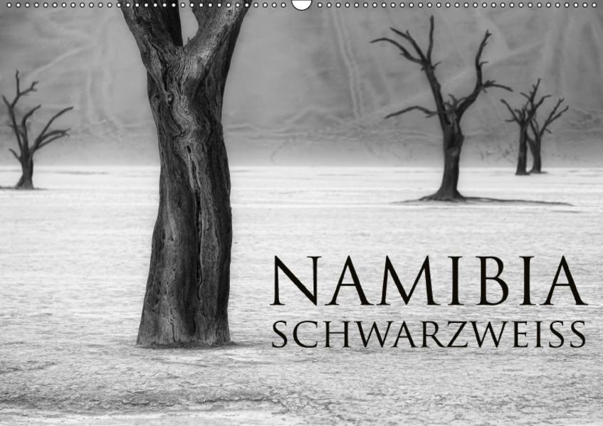 Namibia schwarzweiß (Wandkalender 2017 DIN A2 quer) - Coverbild