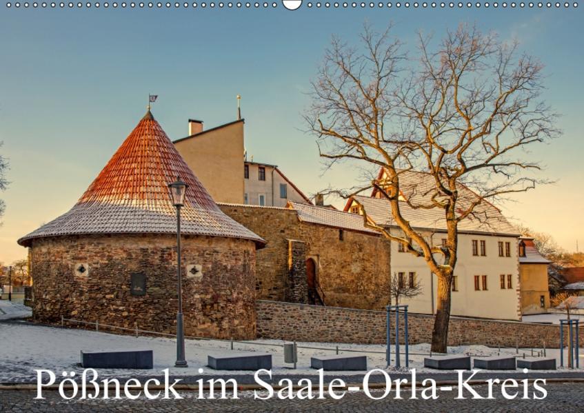 Pößneck im Saale-Orla-Kreis (Wandkalender 2017 DIN A2 quer) - Coverbild