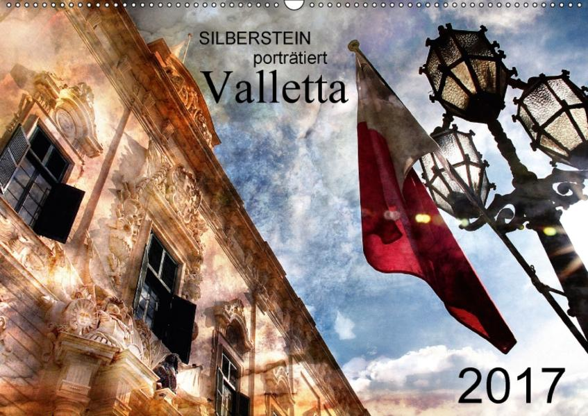 Silberstein porträtiert Valletta (Wandkalender 2017 DIN A2 quer) - Coverbild