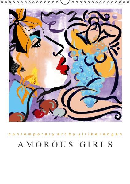 AMOROUS GIRLS (Wandkalender 2017 DIN A3 hoch) - Coverbild