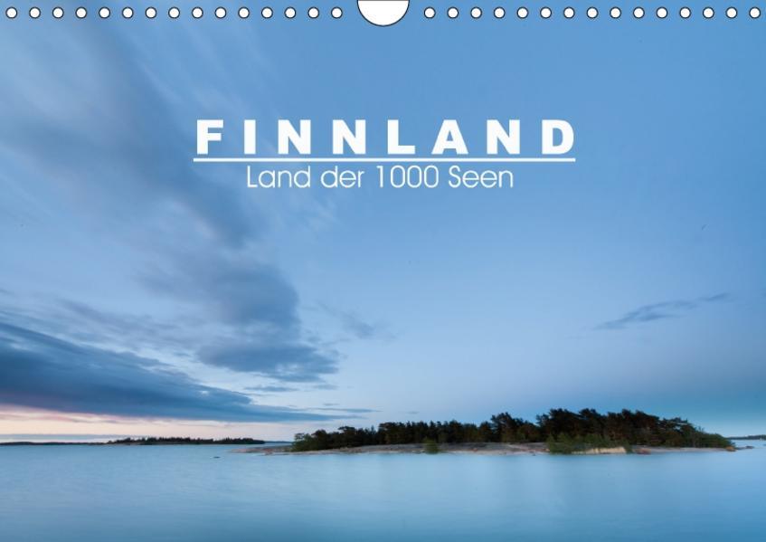 Finnland: Land der 1000 Seen (Wandkalender 2017 DIN A4 quer) - Coverbild