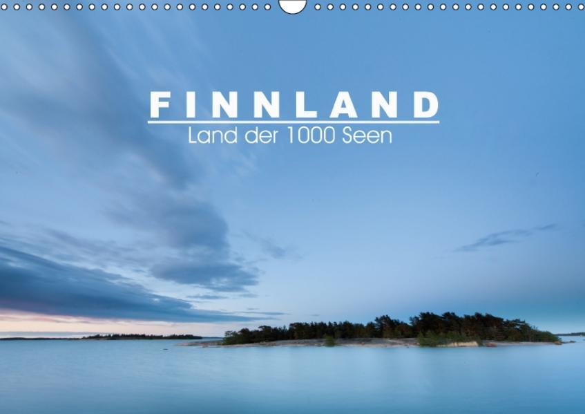 Finnland: Land der 1000 Seen (Wandkalender 2017 DIN A3 quer) - Coverbild