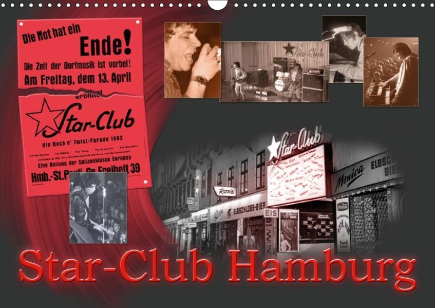 Star-Club HAMBURG (Wandkalender 2017 DIN A3 quer) - Coverbild