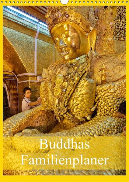 Buddhas Familienplaner (Wandkalender 2017 DIN A3 hoch) - Coverbild