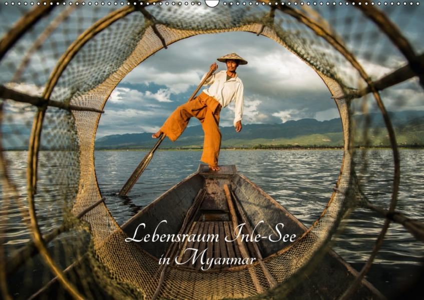 Lebensraum Inle - See in Myanmar (Wandkalender 2017 DIN A2 quer) - Coverbild