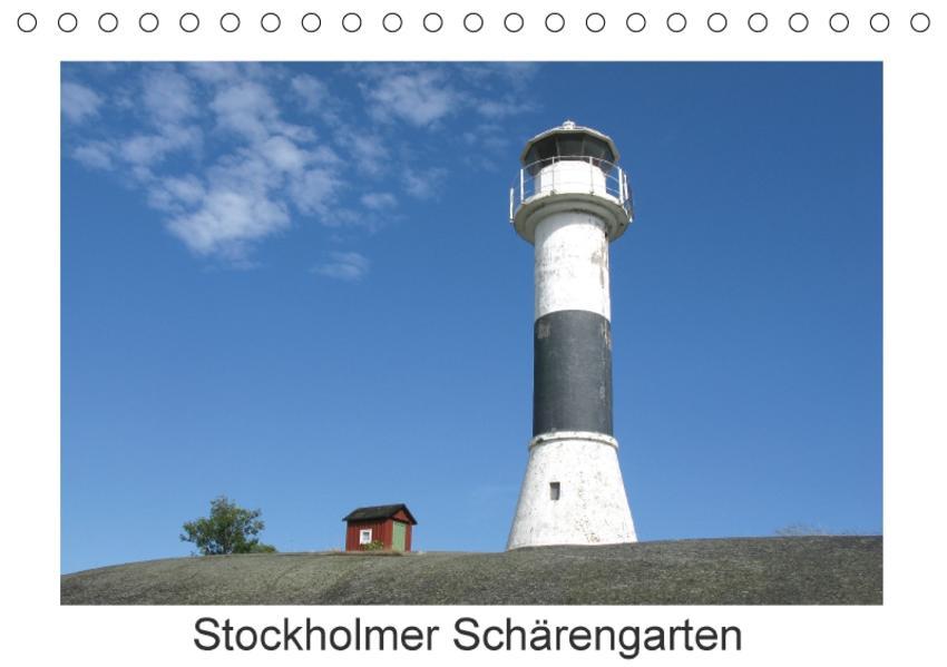 Stockholmer Schärengarten (Tischkalender 2017 DIN A5 quer) - Coverbild