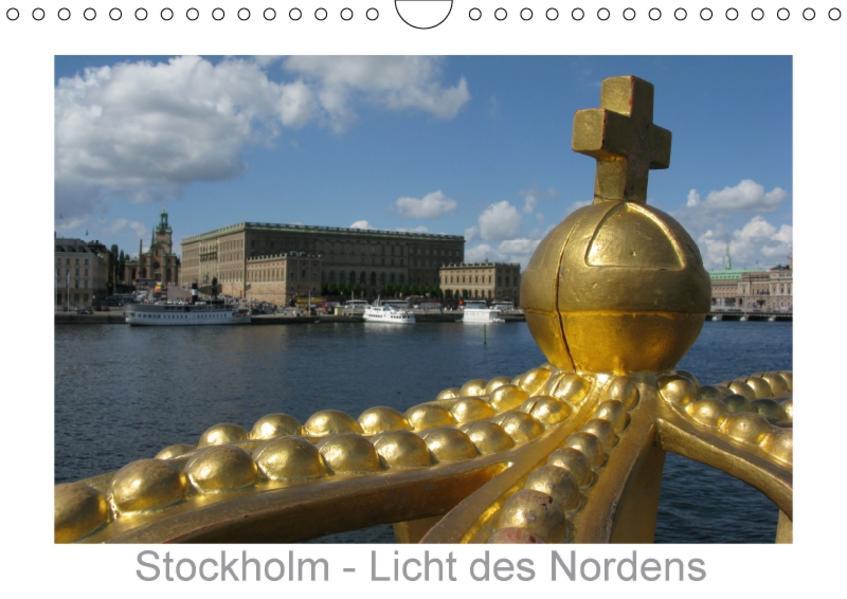 Stockholm - Licht des Nordens (Wandkalender 2017 DIN A4 quer) - Coverbild