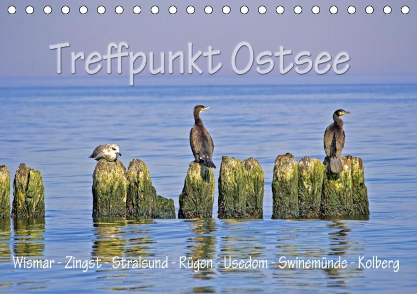 Treffpunkt Ostsee (Tischkalender 2017 DIN A5 quer) - Coverbild