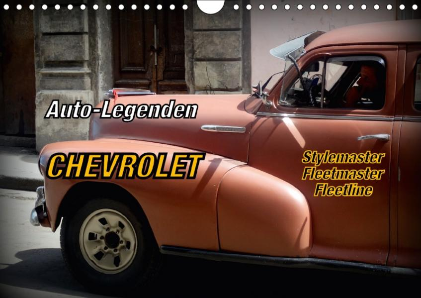 Auto-Legenden Chevrolet Fleetmaster (Wandkalender 2017 DIN A4 quer) - Coverbild