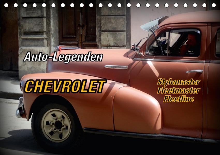 Auto-Legenden Chevrolet Fleetmaster (Tischkalender 2017 DIN A5 quer) - Coverbild
