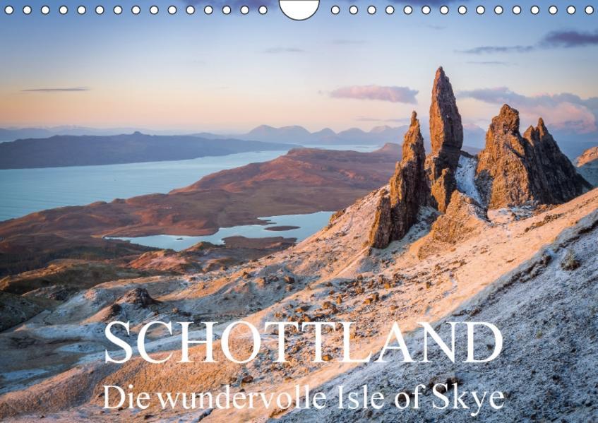 Schottland - Die wundervolle Isle of Skye (Wandkalender 2017 DIN A4 quer) - Coverbild