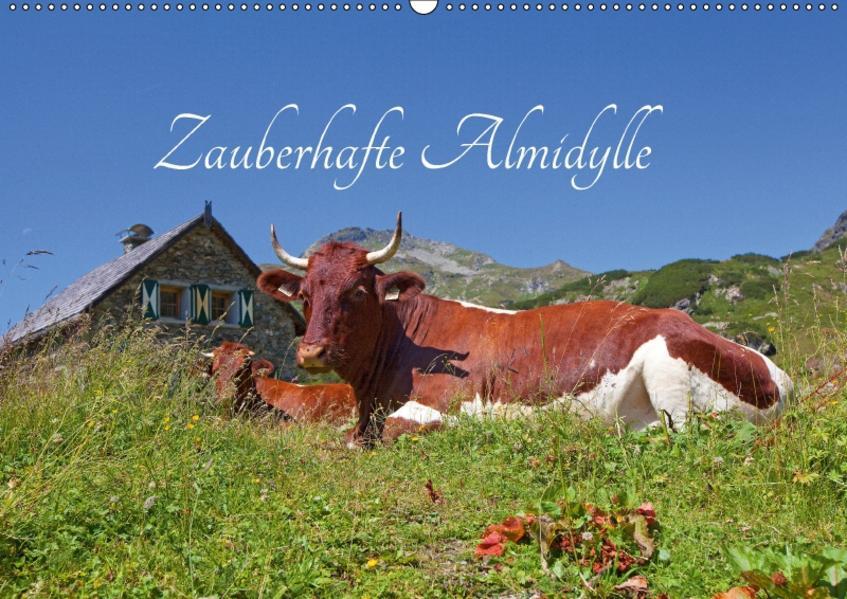 Zauberhafte AlmidylleAT-Version  (Wandkalender 2017 DIN A2 quer) - Coverbild