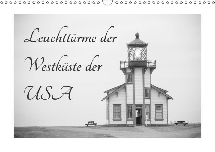 Leuchttürme der Westküste der USA (Wandkalender 2017 DIN A3 quer) - Coverbild