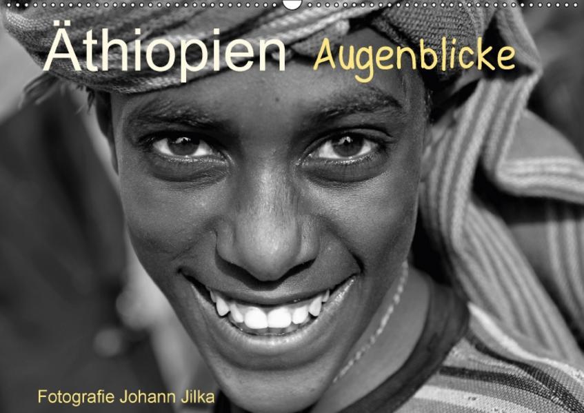 Äthiopien Augenblicke (Wandkalender 2017 DIN A2 quer) - Coverbild
